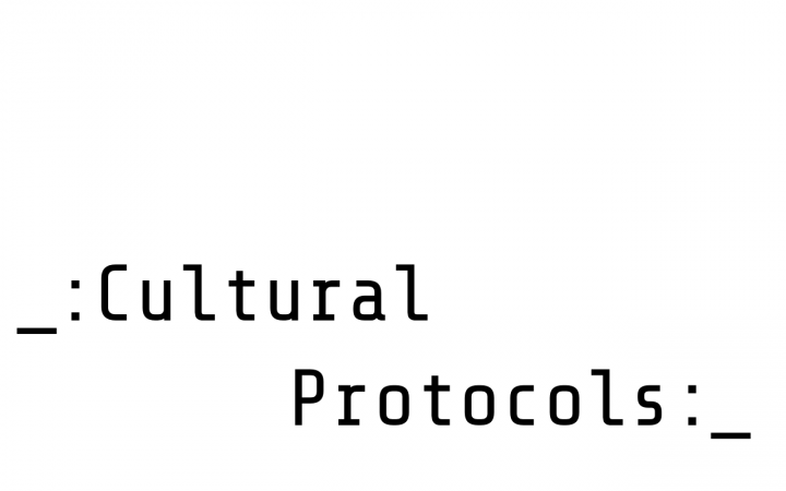 Cultural Protocols | The Series